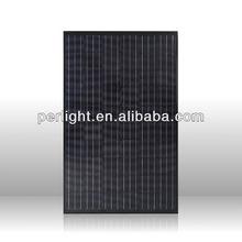 240W Black Mono Cystalline Silicon Solar Panel