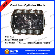 Toyota 2RZ Cast Iron Cylinder Block