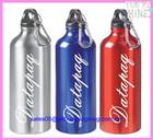 2014 cheap single wall aluminium sports water bottle carrier China manufacturer