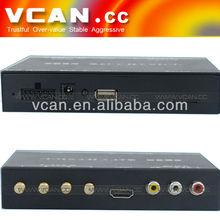 Useful Full One Seg car mini ISDB-T tv receiver four tuner B-cas card for Japan FM hd car tv set top box receiver forsale