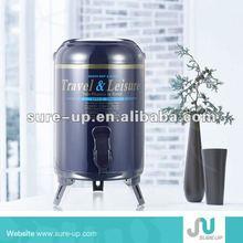 foam isolation printing aluminum water jar,original water jar,high quality insulated printing water jars