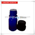 5ml blau kosmetische Essenz glasflasche