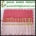 de bambú personalizado agujasdetejer kit de costura