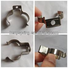 Custom constant tension spring band hose clip