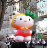 Inflatable Hello Kitty Model Inflatable Toy Hello Kitty Cartoon Hot Air Balloon For Sale For Fun Advertise Girl's Toy Cartoon