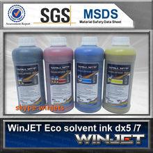 Precio aceptable caja de madera tinta ecosolvente para ep son tinta eco solvente para roland vp300i