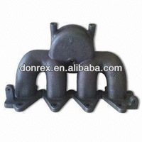 Casting Exhaust Manifold, Customized Drawings are Accepted, Made of Gray Iron