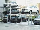 Multi-level underground car garage parking design