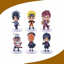 2014 new products favorable price eco-friendly soft pvc naruto action figures for home decor from china wholesale
