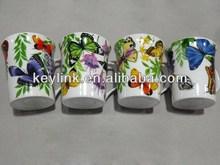 Super quality novel silk screen ceramic gift mug