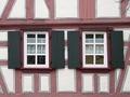 rd de poliuretano de madera persiana de la ventana