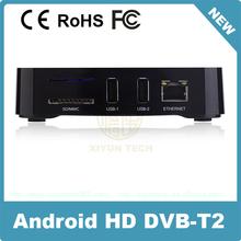 iptv Thailand full hd 1080p dvb-t2 fta set top box with rf out