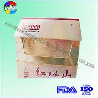 gold aluminum foil laminated paper for cigarette packing