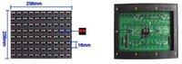 Outdoor RGB P10 Full Color LED Display Module 1R1G1B 160*160mm 6500mcd/sqm 1/4 Scan waterproof DIP led screen board