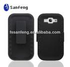 Multi Tone Bumper Hybrid Soft Silicone PC Skin Mobile Phone Case Cover For Samsung s3 i9300