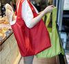 Wholesale polyester bag/Carry polyester bag/foldable polyester shoulder tote bag
