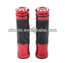 "7/8"" Handle Bar Hand Grips for Kawasaki Ninja 250 250R 400 600 1000RR 650R 600R Red 06B"