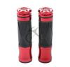 """7/8"""" Handle Bar Hand Grips for Kawasaki Ninja 250 250R 400 600 1000RR 650R 600R Red 06B"""