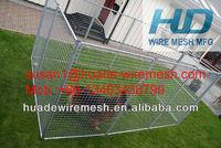 dog kennel with a-frame top/dog panels/dog fences