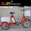 three wheel electric bike (E-TDR03 red)