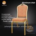 Al aire libre silla de hierro para el hotel de la boda para el comedor habitación en acero durable de estilo clásico jh-a10