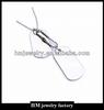 custom stainless steel pendant blank tags