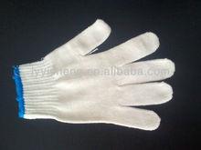 natural white 500g/dozen cotton working glove