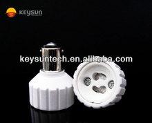 lamp adapter socket 220V CE BA15D to GU10