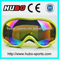 Top design big brand custom logo best ski goggle
