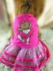 2014 New Fashion Cute Pink Bear Pet Dog Dress 1102970 Factory Direct Wholesale
