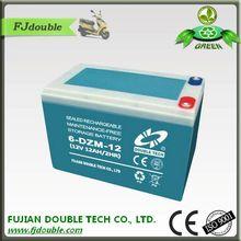 6-DZM-12 flooded lead acid battery 12v 12ah
