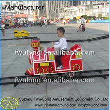 kids entertainment rides mini electric track train