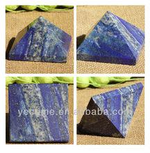 Natural Rock Lapis Lazuli Crystal Pyramid