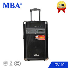 Built-in DVD player and Rechargeable battery speaker portable
