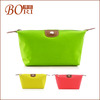 Fashion nylon travel cosmetic bags women container desiccant bag