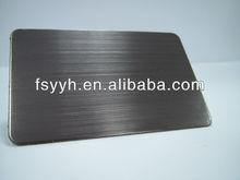 304 stainless black flat sheet steel