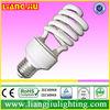 zhongshan 9mm 13W half spiral energy saving lights with CE,ROHS,IEC60968,IEC60969,ISO9001-2008,TUV