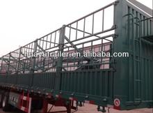 3 Axles 40Ton enclosed cargo box semi trailer for sale