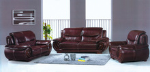 luxurious living room leather sofa