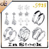 S925 earring 925 sterling silver jewelry wholesale