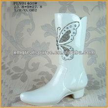 ceramic vase shoe shaped home decoration