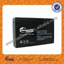 6v 7ah contenitore di batteria al piombo