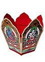 Buddhist priest's crown 7 X 15 inch