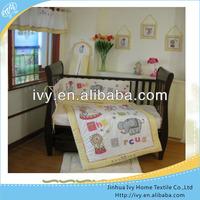 Cartoon character lucky baby bedding brand