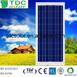 Special offer 150W/140W/130W/120W High Efficiency Solar Panle Price TUV CE CEC CERTIFIED