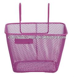 ZCK-033 mesh girl bike/bicycle basket