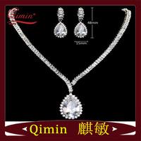 Ocean Heart Diamond jewelry sets