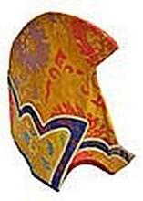 Tibetan Monk Brocade Hat