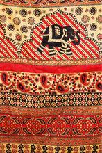 Africano del bloque impreso tela de algodón, 100% algodón étnica vintage tela impresa