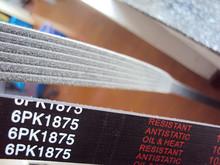 OEM AOSHENG,ROYALINK,BEPLUS 6pk1875 auto rubber ribbed v belt for MERCEDES BENZ,VOLKSWAGEN,FORD,AUDI transmission belt